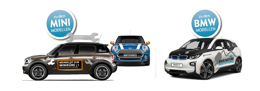 BMW + MINI Modelle